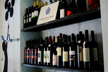 Aperitivi di vini naturali al Naturalmente Burger di Ravenna